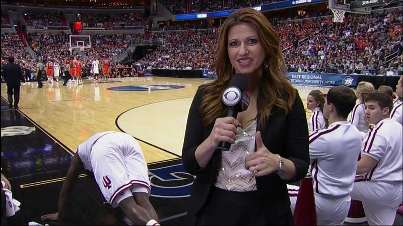 Illustration for article titled Rachel Nichols Approves Of Victor Oladipo's Ass