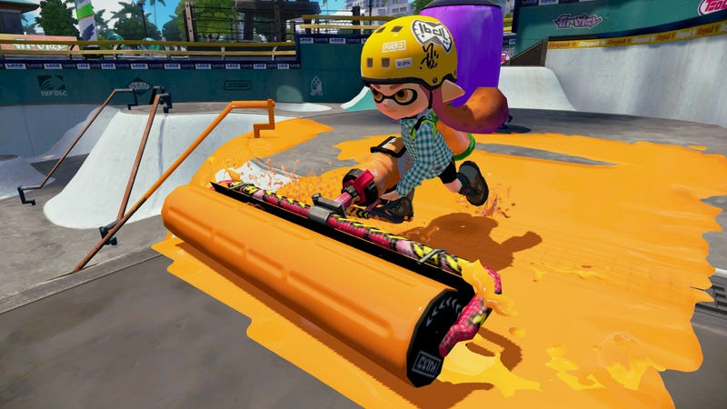 Illustration for article titled New Weapon Coming to Splatoon Tonight!