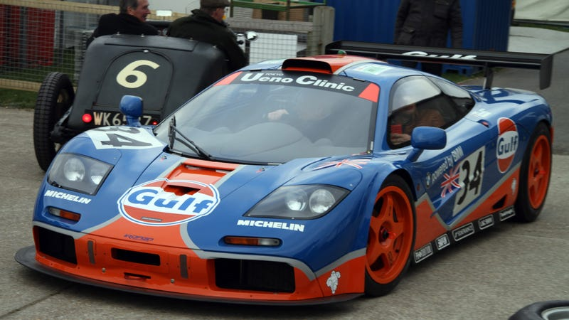 getting up close and personal with a mclaren f1 gtr