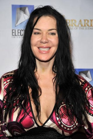 Joan Marie Laurer, also known as WWF wrestler Chyna, in Hollywood, Calif., on Nov. 19, 2008Frazer Harrison/Getty Images
