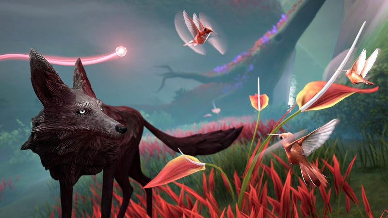 Illustration for article titled Lost Ember Lets You Play As Loads Of Animals, Like Wombats And Hummingbirds
