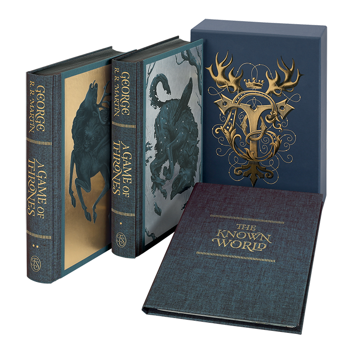 A Song Of Ice And Fire Books Are Getting New Hardcover Editions