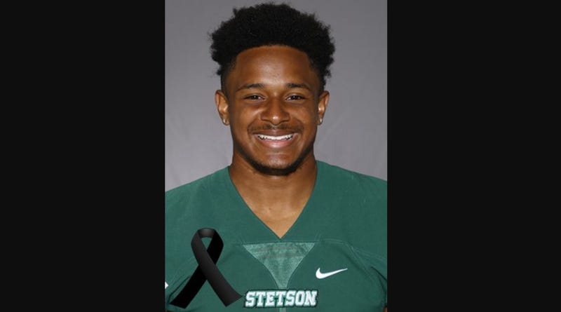 Stetson mourning death of football player