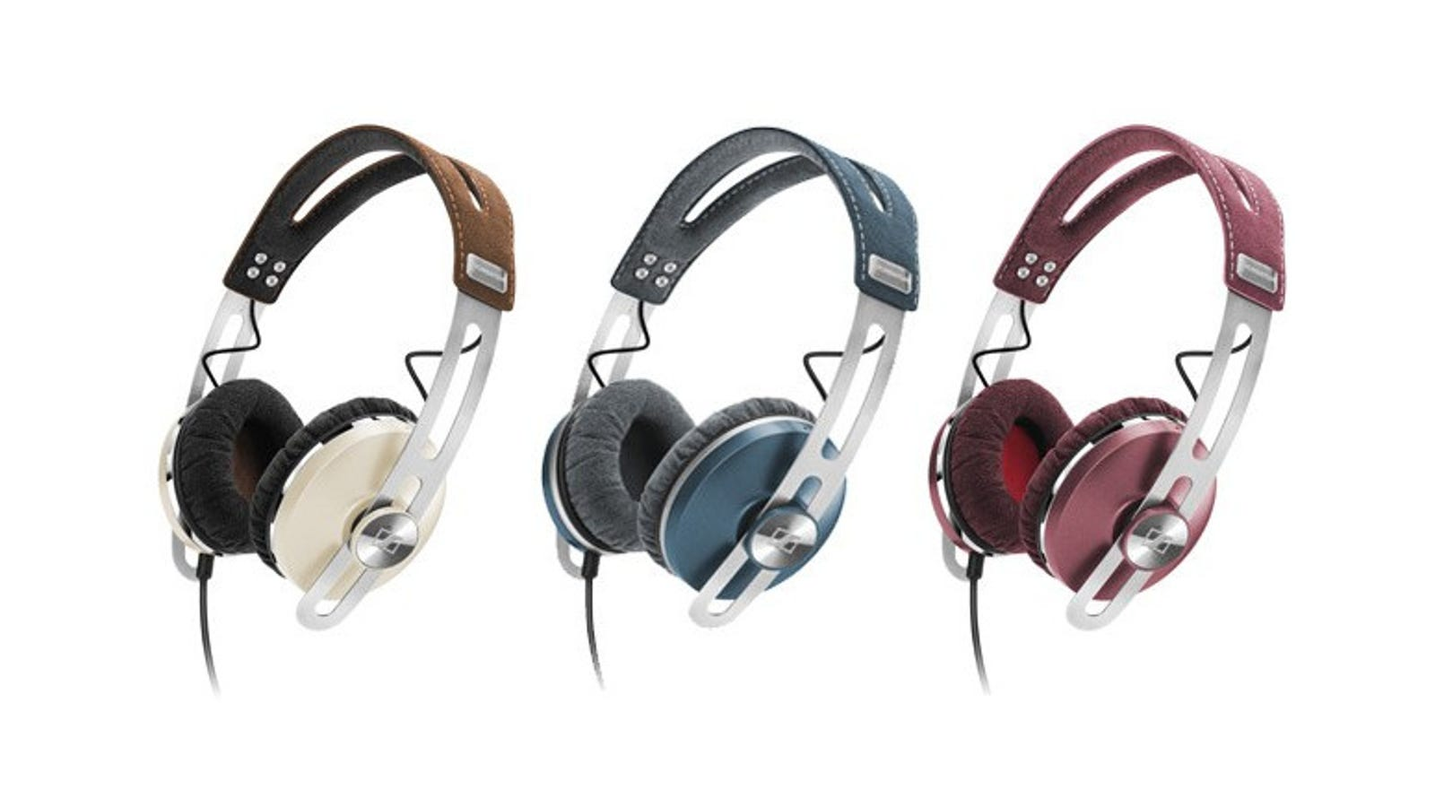 desk mount headphone hanger - Sennheiser's Colorful Cans Value Style as Much as Sound