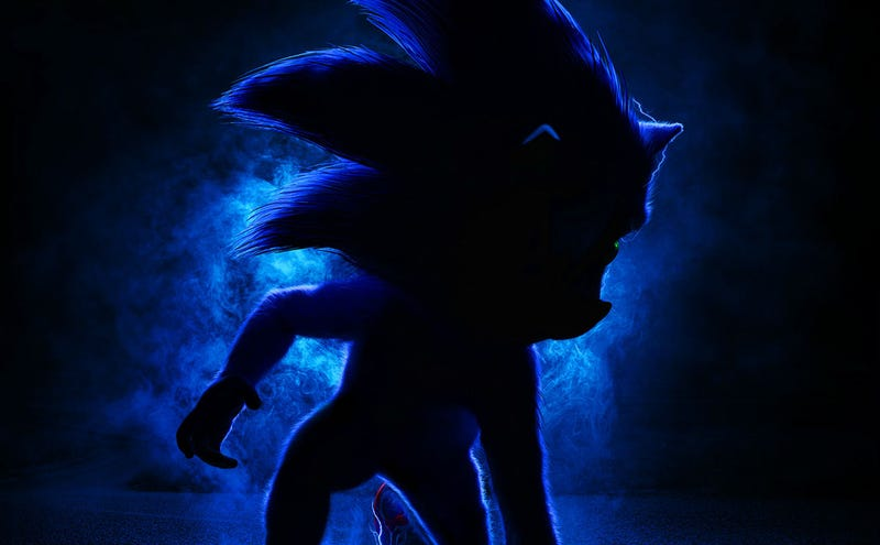 Sonic Movie First Look Reveals the Hedgehog and Dr  Robotnik