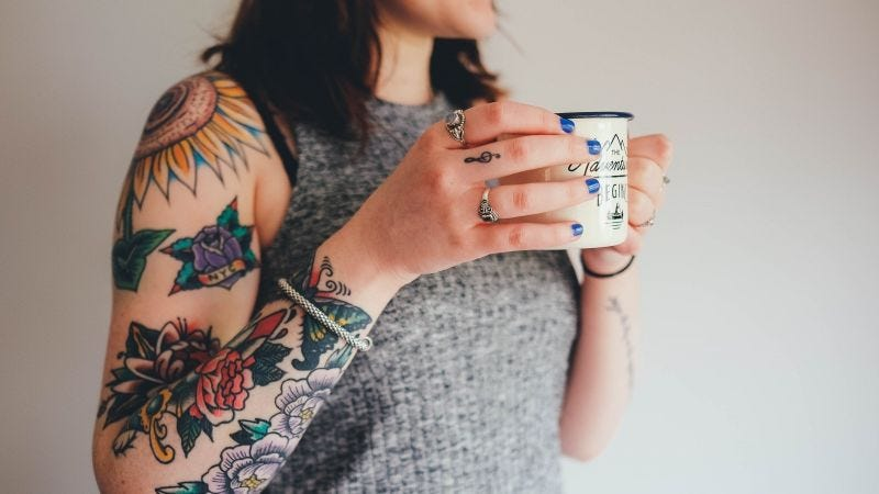 Tatuajes de los que sí gusta lucir.