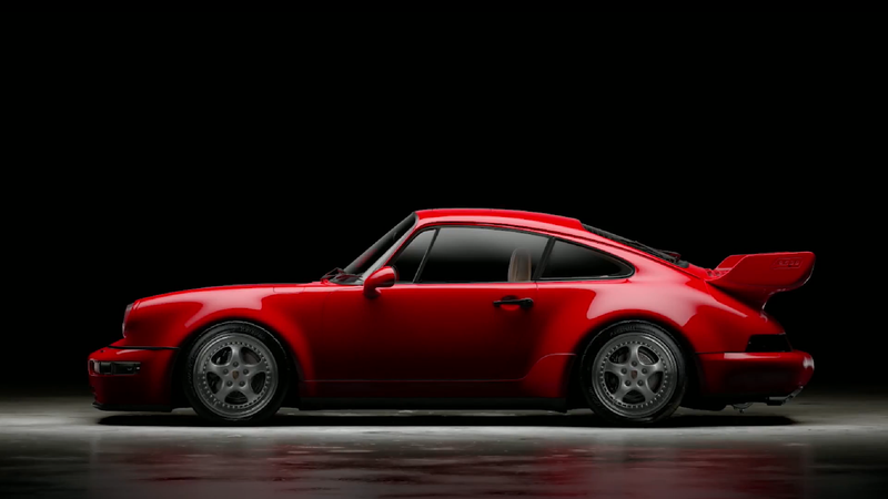 Illustration for article titled Watch How The Porsche 911 Carrera RS 3.8 Gets ReimaginedFrom A Toy And Pictures