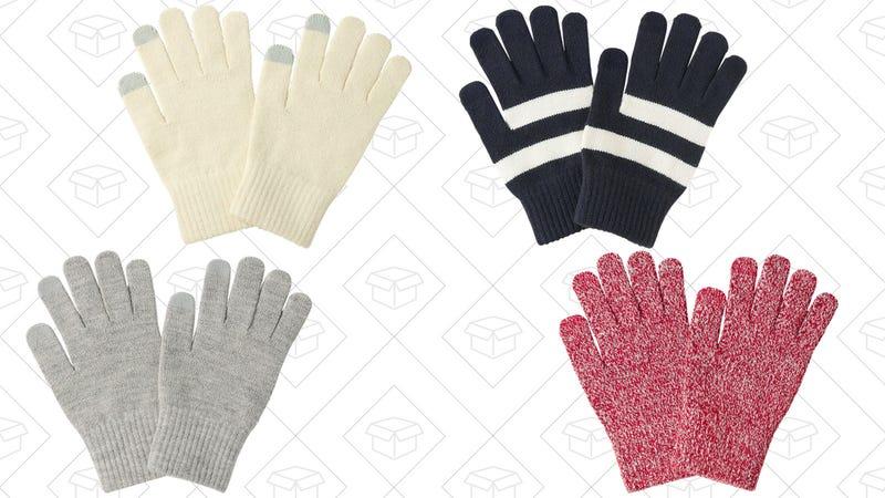 Uniqlo HEATTECH Gloves, $4