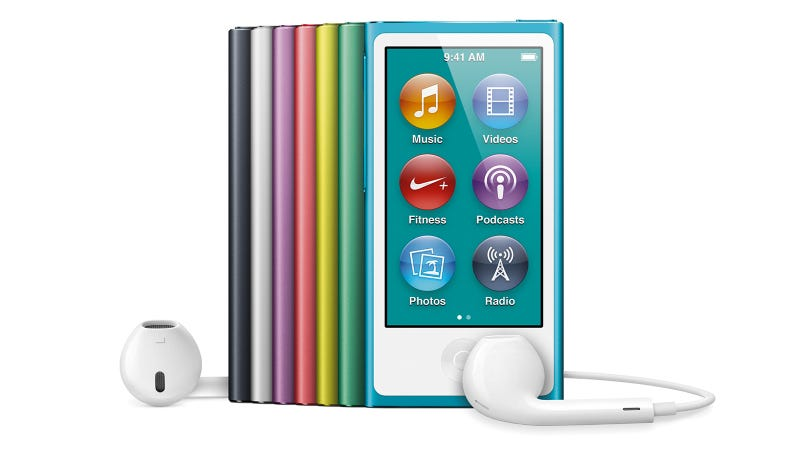 Illustration for article titled New iPod Nanos Look Like Gorgeous Tiny iPhones