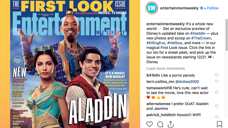 Illustration for article titled Well, What Did You Think Will Smith as the Genie in Aladdin Was Going to Look Like?