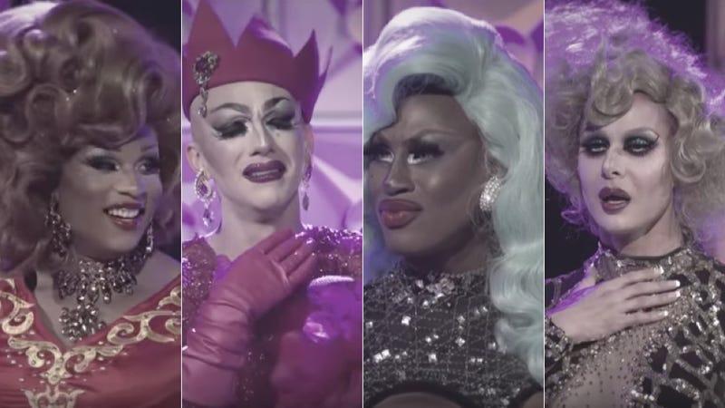 Images via screenshot/RuPaul's Drag Race/World of Wonder/Logo/VH1/Your Mom's House