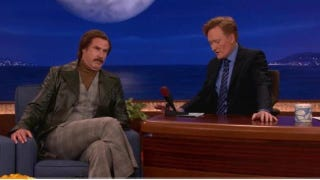 Illustration for article titled Ron Burgundy Tells Conan That The Dodge Durango Is A Terrible Car