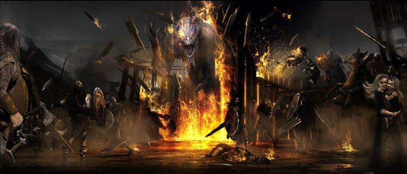 Illustration for article titled The Saga Behind Viking-Alien War Movie Outlander