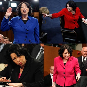 Illustration for article titled Critique Of Sotomayor's Fashion Choices Falls Flat