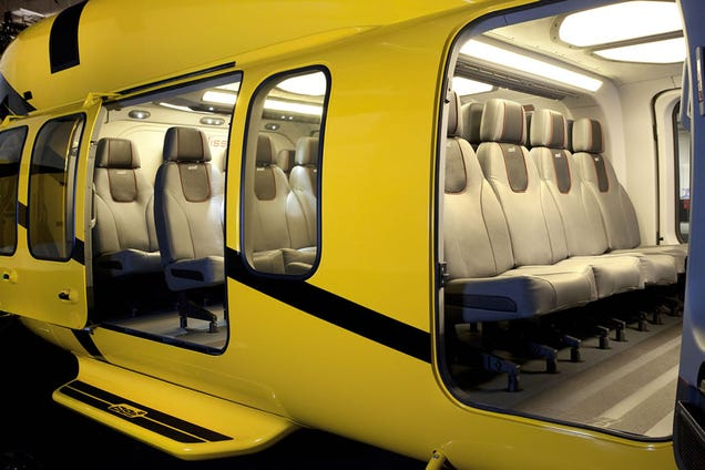 The Bell 525 Helicopter Cabin Looks Like A Throne Room From Star Wars