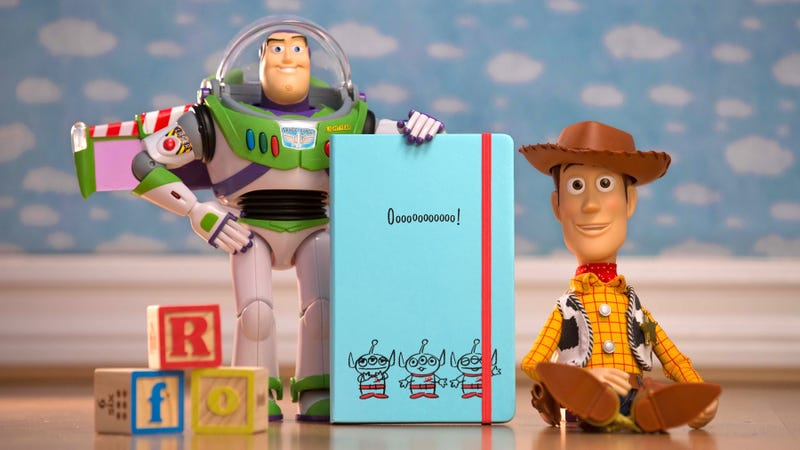 Illustration for article titled Toy Story Moleskines Are a Convincing Reason to Switch Back to Pen and Paper
