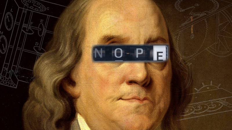 Illustration for article titled No, Benjamin Franklin Did NOT Invent The Odometer