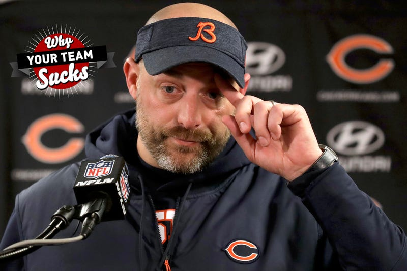 Illustration for article titled Why Your Team Sucks 2019: Chicago Bears
