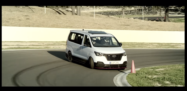 Everyone In The Entire World Needs A Hyundai iMax N Drift Bus