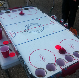 Illustration for article titled Canada Has Turned Air Hockey Into A Drinking Game