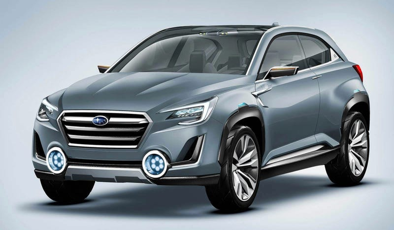Illustration for article titled The Subaru Viziv 2 Concept Is A Sharp-Suited Turbo Crossover