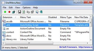 """Illustration for article titled ShellMenuNew Cleans Up the Windows Explorer """"New"""" Menu"""