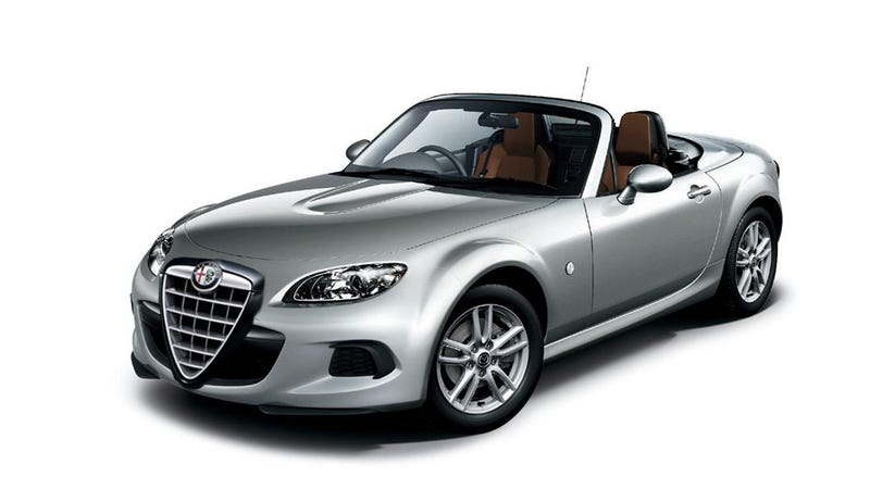 Illustration for article titled Fiat May Steal The Mazda Miata-Based Roadster From Alfa Romeo