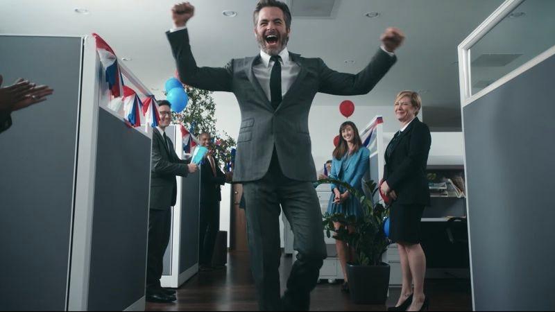 Screenshot: If Congress was your co-worker - Starring Chris Pine