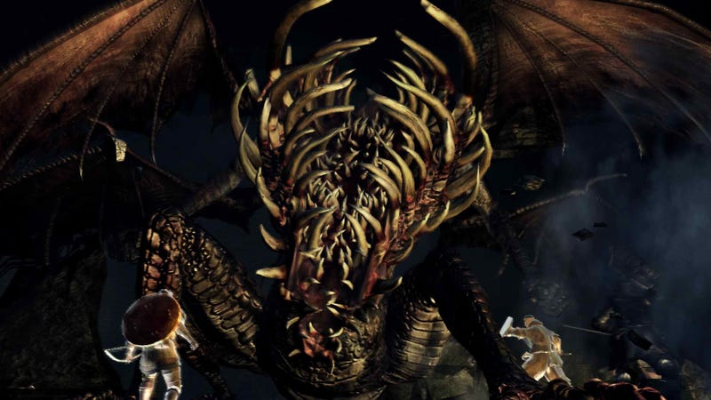 Illustration for article titled Dark Souls Mod Lets You Play As The Game's Bosses