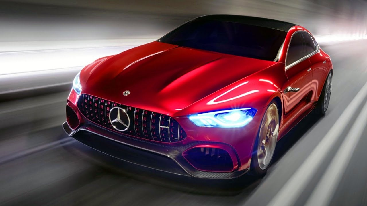 Hereu0027s The Mercedes-AMG GT Four-Door Concept Before Youu0027re Supposed To See It & Hereu0027s The Mercedes-AMG GT Four-Door Concept Before Youu0027re Supposed ...