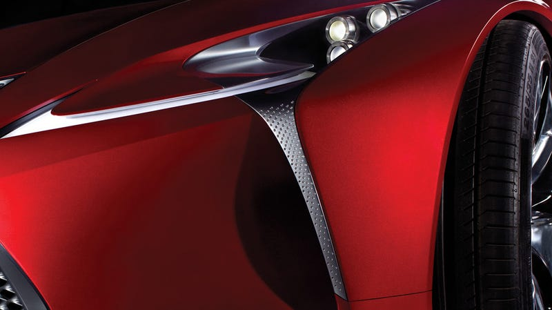 Illustration for article titled This Lexus concept will nose its way into the Detroit Auto Show