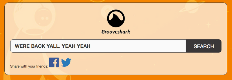 Illustration for article titled Grooveshark Defiantly Resurrected By a Rogue Pirate