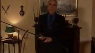 Christopher Lee Demonstrates Bladecraft