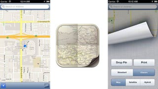 Illustration for article titled New App Puts Old iOS Google Maps Back on Your iPhone—Sort Of