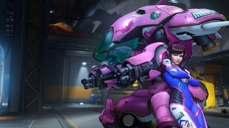 Illustration for article titled StarCraft II's Next Announcer Is Overwatch's D.Va