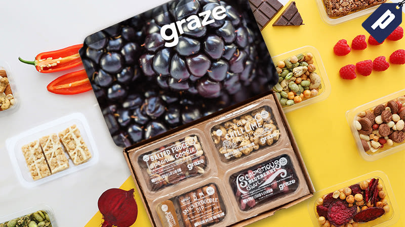 Illustration for article titled Get A Free Box Of Delicious Snacks From Graze And Stay Satisfied