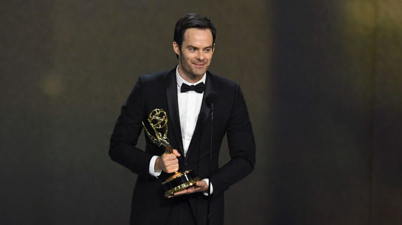 Illustration for article titled Bill Hader's pitch-blackBarry performance is fueled by shitty high school memories