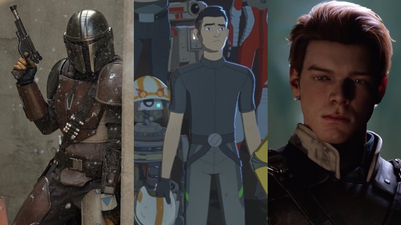 The Mandalorian, Resistance, Fallen Order—and there's more where they came from.