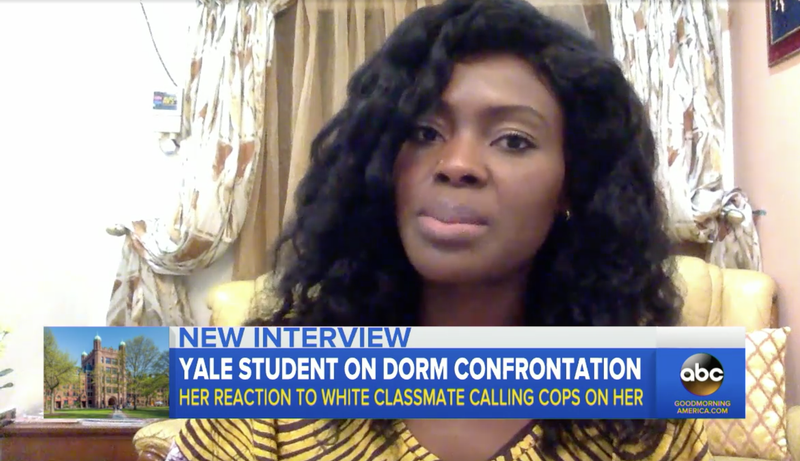 Illustration for article titled Black Yale Student Wants White Classmate Who Called Police on Her Held Accountable