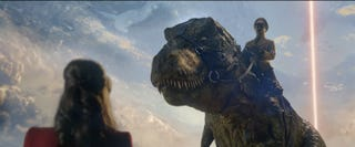 Illustration for article titled Watch Hitler Ride Around On A T-Rex In TheIron Sky 2 Trailer