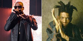 Jay-Z; Jean-Michel BasquiatGetty Images; Wikipedia Commons
