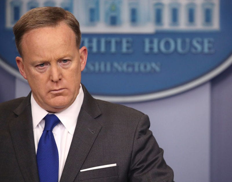 Sean Spicer (Mark Wilson/Getty Images)