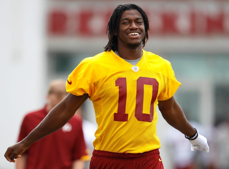 """Illustration for article titled Osi Umenyiora Thinks RG3 Should Be Called Plain Old """"Bob Griffin"""""""
