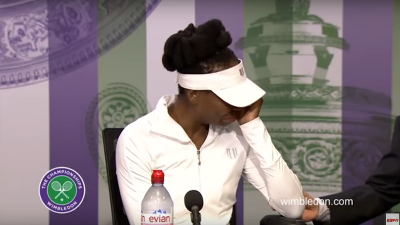 Could This New Video of The Venus Williams Car Crash Exonerate Her?