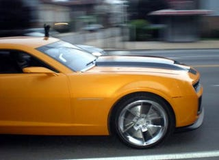 Illustration for article titled Looks Like Bumblebee Gets An Upgrade To Chevy Camaro SS For Transformers 2