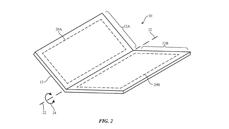 apple patent reveals its latest foldable iphone concept