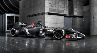 Illustration for article titled New Sauber revealed.