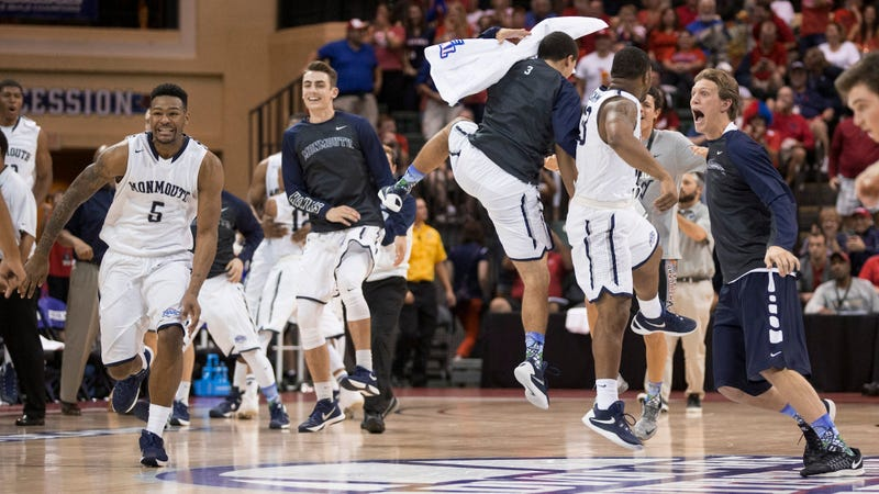 Illustration for article titled Nobody In Sports Is Having As Much Fun As The Monmouth Bench