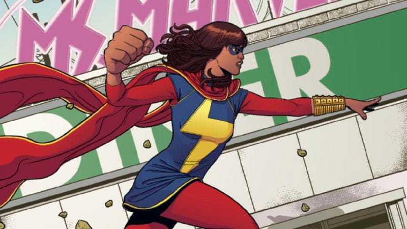 Illustration for article titled Exclusive preview: Kamala Khan suits up with a fanny pack in Ms. Marvel #4