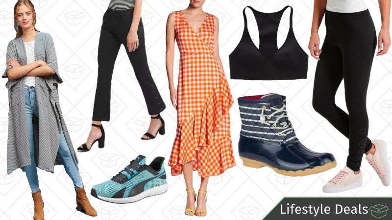 Illustration for article titled Wednesday's Best Lifestyle Deals: Sperry, GAP, Anthropologie, PUMA, Aerie, and More